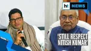 'Respect Nitish Kumar's decision': Prashant Kishor on being expelled from JDU [Video]