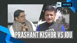 Prashant Kishor asks Nitish to choose between Gandhi & Godse; JDU hits back [Video]