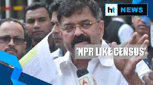 Watch: Congress opposes NPR, but allies Shiv Sena & NCP okay it with a caveat [Video]
