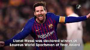 Messi, Hamilton named joint winners of Laureus World Sportsman of the Year [Video]