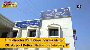 News video: Ram gopal verma gathers info from hyderabad police station for film on veterinarian rape case