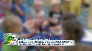 Buffalo State College bucking trend in enrollment of future teachers, daycare providers [Video]