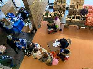 May Dugan Center helps feed the hungry [Video]