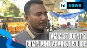 Jamia violence | No medical aid provided: Student seeks Rs 1 crore compensation [Video]