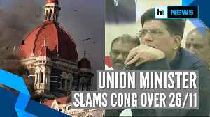 'Condemn Congress': Piyush Goyal on ex-Mumbai top cop's claims on 26/11 attack [Video]