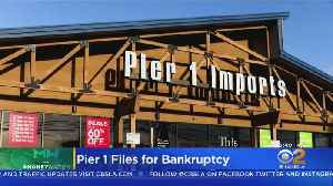 Pier 1 Files For Bankruptcy [Video]