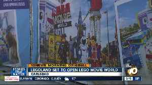Legoland California's Lego Movie World is almost ready to open [Video]