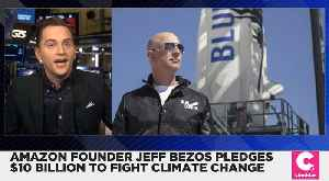 News video: Jeff Bezos Pledges $10 Billion to Fight Climate Change