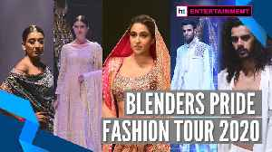 Sara Ali Khan walks the ramp in traditional attire | Blenders Pride Fashion Tour [Video]