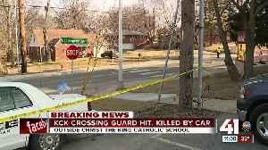 Crossing guard struck by car, killed in KCK [Video]