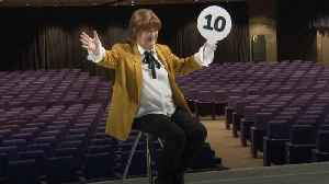 Susan Boyle revisits Britain's Got Talent audition stage [Video]
