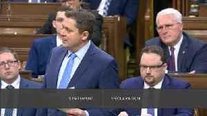 Scheer Blasts PM's Response To Rail Blockades [Video]