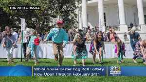 White House Easter Egg Roll Lottery Open Through Monday [Video]