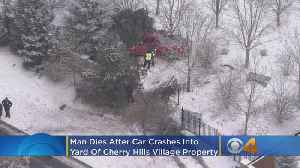 News video: Man Dies After Car Crashed Into Yard Of Cherry Hills Village Property
