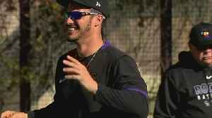 Nolan Arenado Upbeat At The Start Of Spring Training [Video]