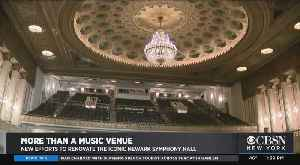 Once-Great Newark Symphony Hall Rising Again As Destination Venue [Video]