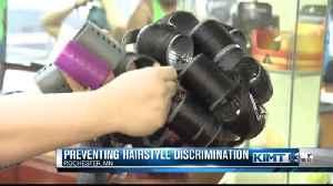 Hairstyle discrimination legislature [Video]