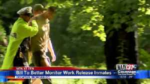 Bill to better monitor work release inmates [Video]