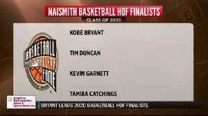 Kobe HOF Finalist [Video]