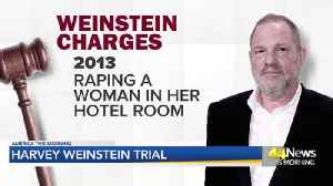 WEINSTEIN TRIAL BEGINS [Video]