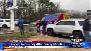 Suspect In Custody After Deadly Shooting [Video]