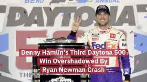 Denny Hamlin Wins Third Daytona 500 [Video]