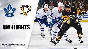 NHL Highlights | Maple Leafs @ Penguins 02/18/20 [Video]