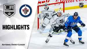 NHL Highlights   Kings @ Jets 02/18/20 [Video]