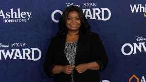 """Octavia Spencer """"Onward"""" World Premiere Blue Carpet [Video]"""