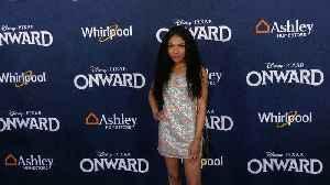 "Teala Dunn ""Onward"" World Premiere Blue Carpet [Video]"