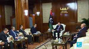 Libya's UN-backed govt suspends talks after Haftar forces attack Tripoli port