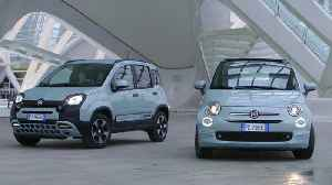 Fiat 500 and Panda Hybrid Edition Seaqual Design Preview [Video]