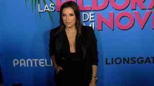 """Eva Longoria """"Las Pildoras De Mi Novio"""" Premiere Red Carpet [Video]"""