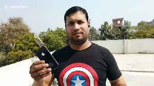 Indian innovator creates iPhone gun attachment that is fired with the press of a button [Video]