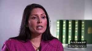 Priti Patel defends PM after being branded 'racist' at Brits [Video]
