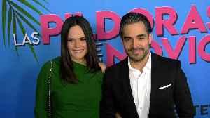 Omar Chaparro 'Las Pildoras De Mi Novio' Premiere Red Carpet [Video]