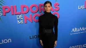 "Roselyn Sanchez ""Las Pildoras De Mi Novio"" Premiere Red Carpet Fashion [Video]"