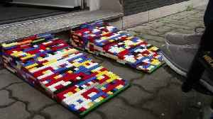 Ramping Up! German Woman Dubbed 'Lego Grandma' Makes Wheelchair Ramps Out Of Legos! [Video]