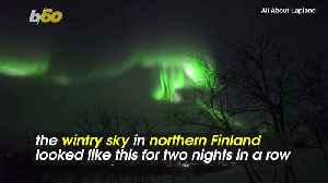Light Show! Colorful Auroras Paint the Arctic Sky in Mesmerizing Video [Video]