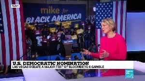 Democratic debate in Las Vegas a major test of Bloomberg's gamble [Video]