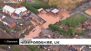 Flooding after UK hit by second big storm in a week [Video]