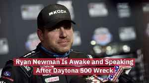 Ryan Newman Is Recovering [Video]