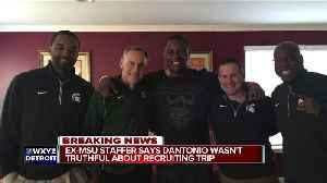 Photo disputes Mark Dantonio's sworn testimony he didn't violate NCAA rules while recruiting [Video]