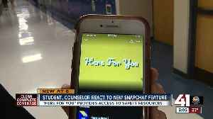 'Here For You' provides access to mental health resources on Snapchat [Video]