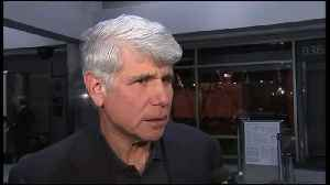 Former Illinois Gov. Blagojevich speaks at DIA after he was released from federal prison in Colorado [Video]