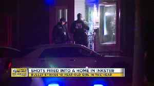 10-year-old girl shot in the head during drive-by shooting in Inkster [Video]
