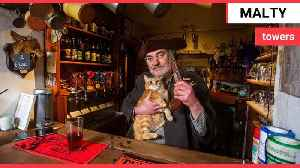 Meet Britain's grumpiest and most eccentric pub landlord [Video]