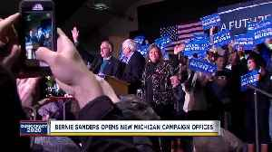Bernie Sanders opens new Michigan campaign offices [Video]