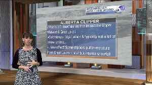 Rachel Garceau's Wednesday Weather Word: Alberta Clipper [Video]