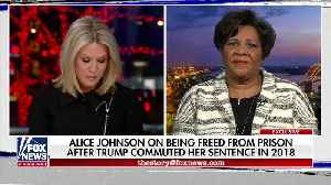 Alice Johnson defends President Trump's pardons from critics [Video]